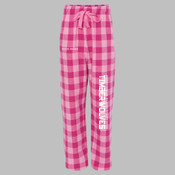 TELEG - F20Y Youth Team Pride Fashion Flannel Pants with Pockets